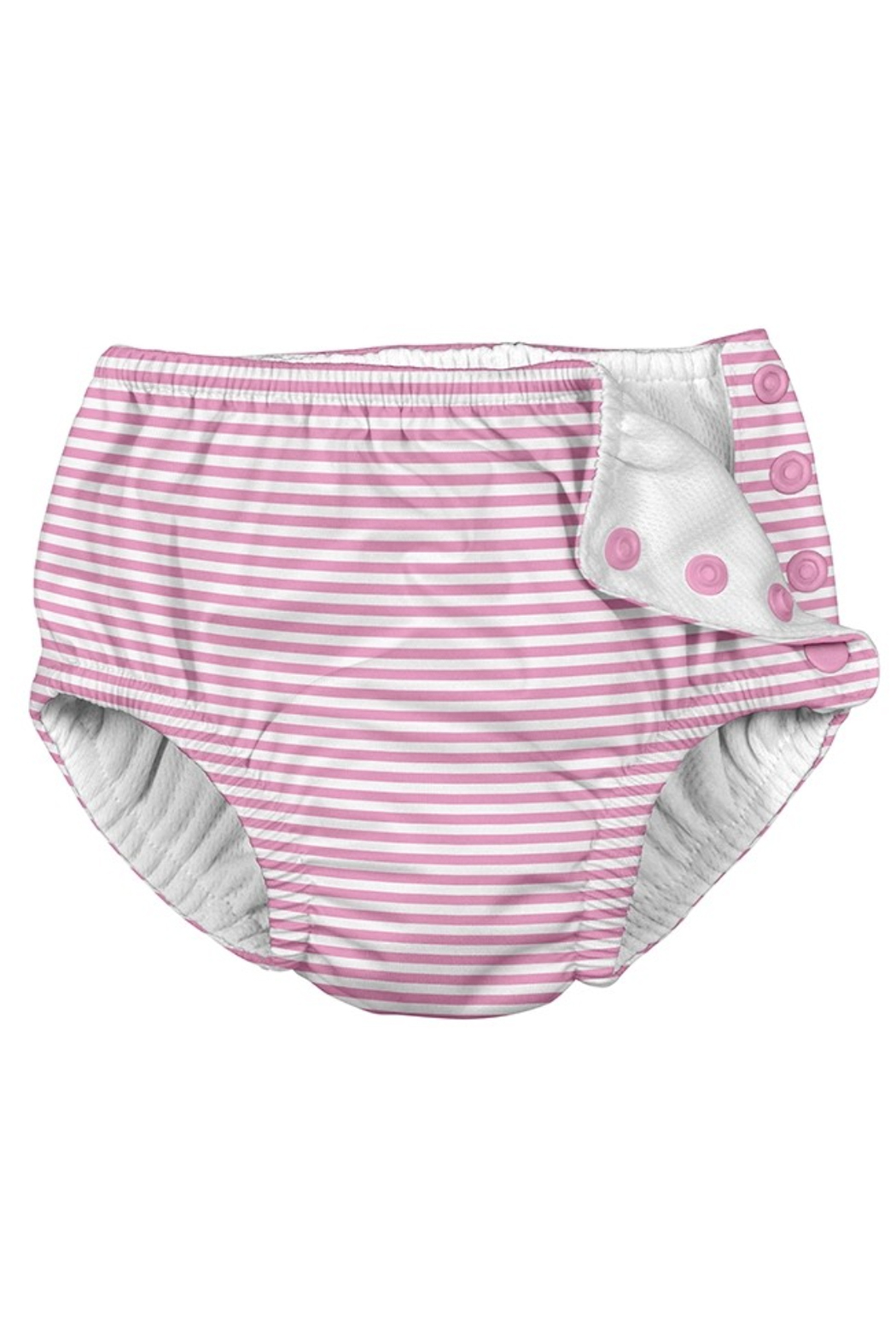 Iplay Snap Reusable Absorbent Swimsuit Diaper - Front Cropped Image