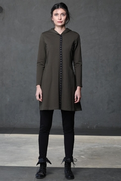 Chalet Snap-Up Hoodie Coat - Product List Image