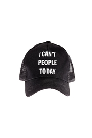 Snark City Can't People Today Hat - Product Mini Image