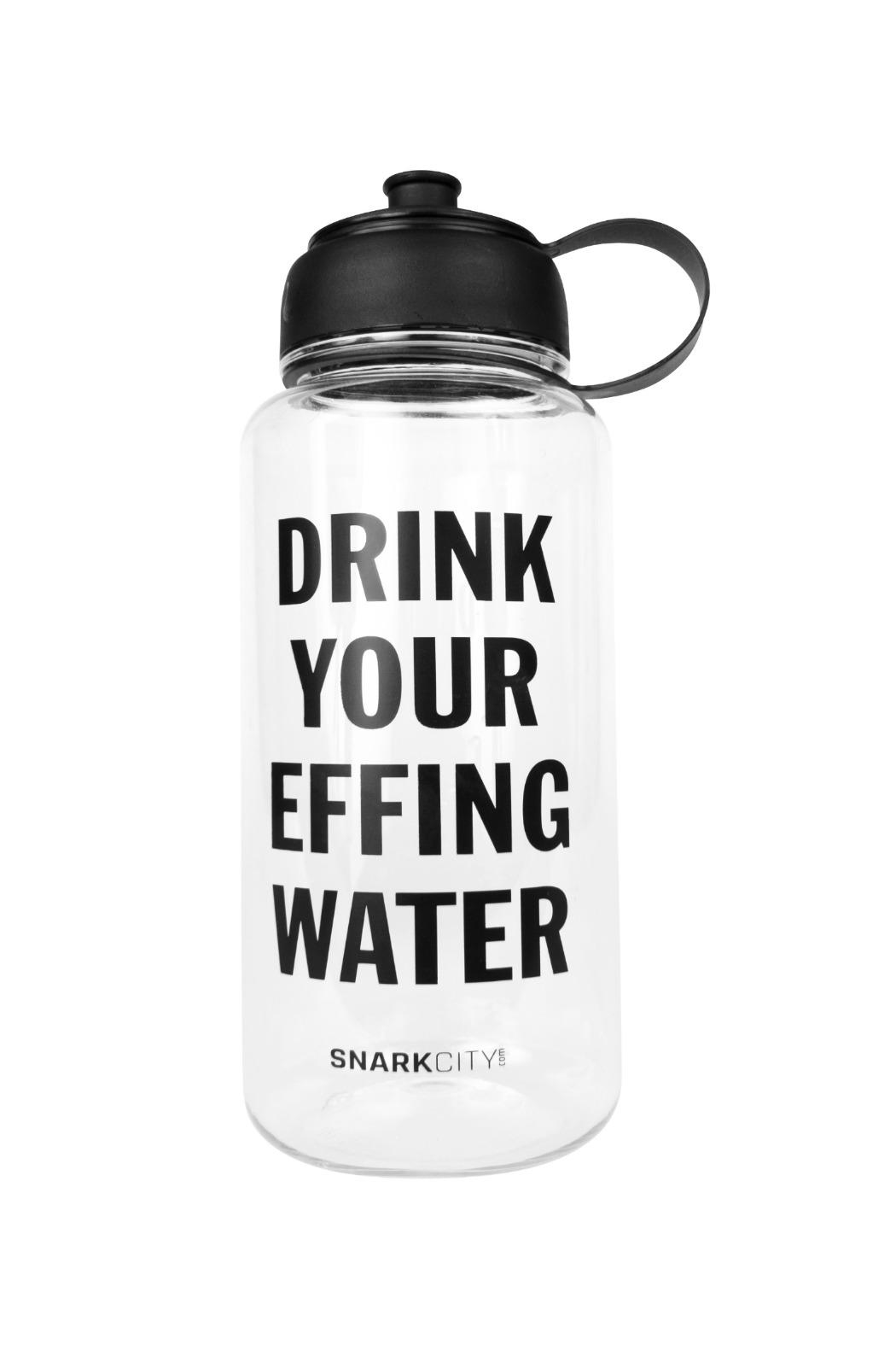 Snark City Effin Water Bottle - Front Cropped Image
