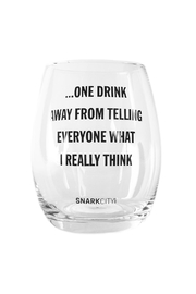 Snark City One Drink Away - Front cropped