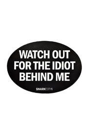 Snark City Watch Out Fridge Magnet - Product Mini Image