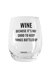 Snark City Wine Because Glass - Front cropped