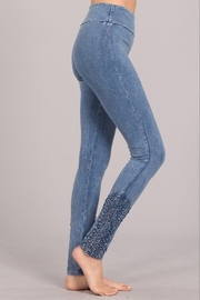 Chatoyant  Snazzy Lace Leggings For Long Legs - Product Mini Image
