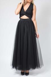 SNAZZY CHIC BOUTIQUE Black Tulle Skirt - Product Mini Image