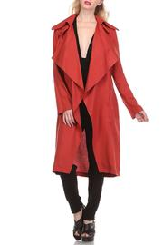 SNAZZY CHIC BOUTIQUE Fall Trench Coat - Product Mini Image