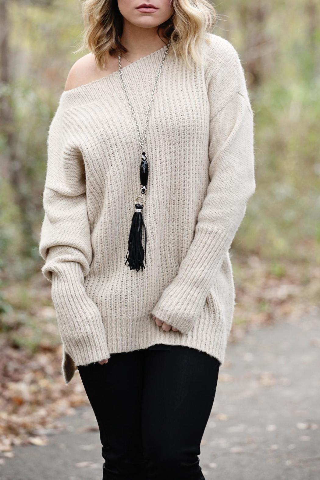 SNAZZY CHIC BOUTIQUE Oversized Sweater - Main Image
