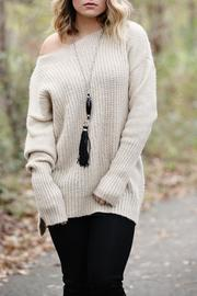 SNAZZY CHIC BOUTIQUE Oversized Sweater - Product Mini Image