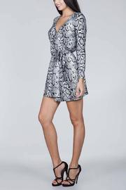 SNAZZY CHIC BOUTIQUE Snake Print Dress - Side cropped