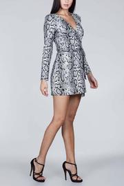 SNAZZY CHIC BOUTIQUE Snake Print Dress - Front full body