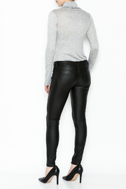 Sneak Peak Coated Skinny Denim Jeans - Back cropped
