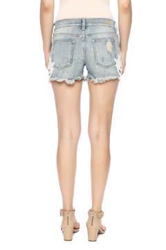 Shoptiques Product: Crochet Embroidered Shorts