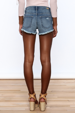 Sneak Peak Denim Mini Shorts - Alternate List Image