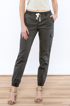 Sneak Peak Grey Jogger Pants - Product List Image