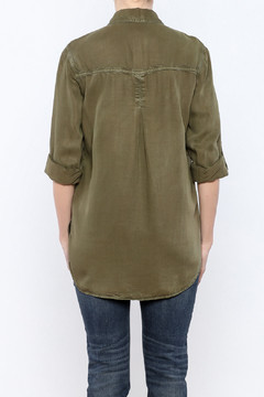 Shoptiques Product: Olive Button-Down Shirt