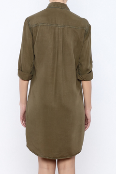 Shoptiques Product: Olive Shirtdress