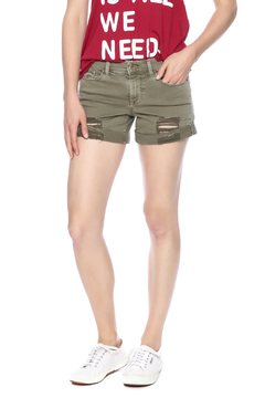 Sneak Peak Olive Shorts - Product List Image