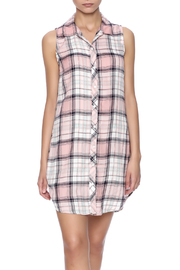 Sneak Peak Plaid Shirtdress - Product Mini Image