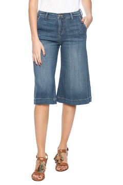 Sneak Peak Denim Culottes - Product List Image