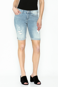 Shoptiques Product: Bermuda Distressed Shorts