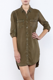 Sneak Peek Cargo Shirt Dress - Product Mini Image
