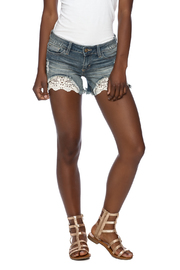 Sneak Peek Daisy Denim Shorts - Product Mini Image