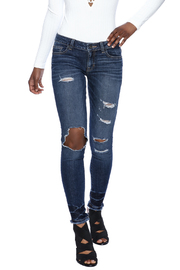 Sneak Peek Distressed Denim - Product Mini Image