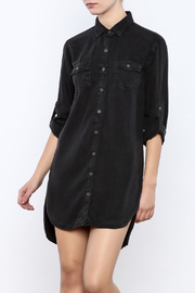 Sneak Peek Tencel Shirt Dress - Product Mini Image
