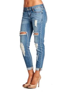 Sneak Peak Boyfriend Jeans - Alternate List Image