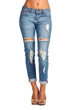 Sneak Peak Boyfriend Jeans - Product List Image