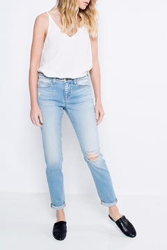 Shoptiques Product: Light Ripped Jeans