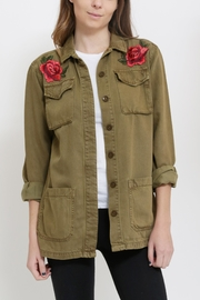 Sneak Peak Patched Military Jacket - Product Mini Image