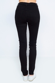 Sneak Peek Black Highwaist Denim - Front full body