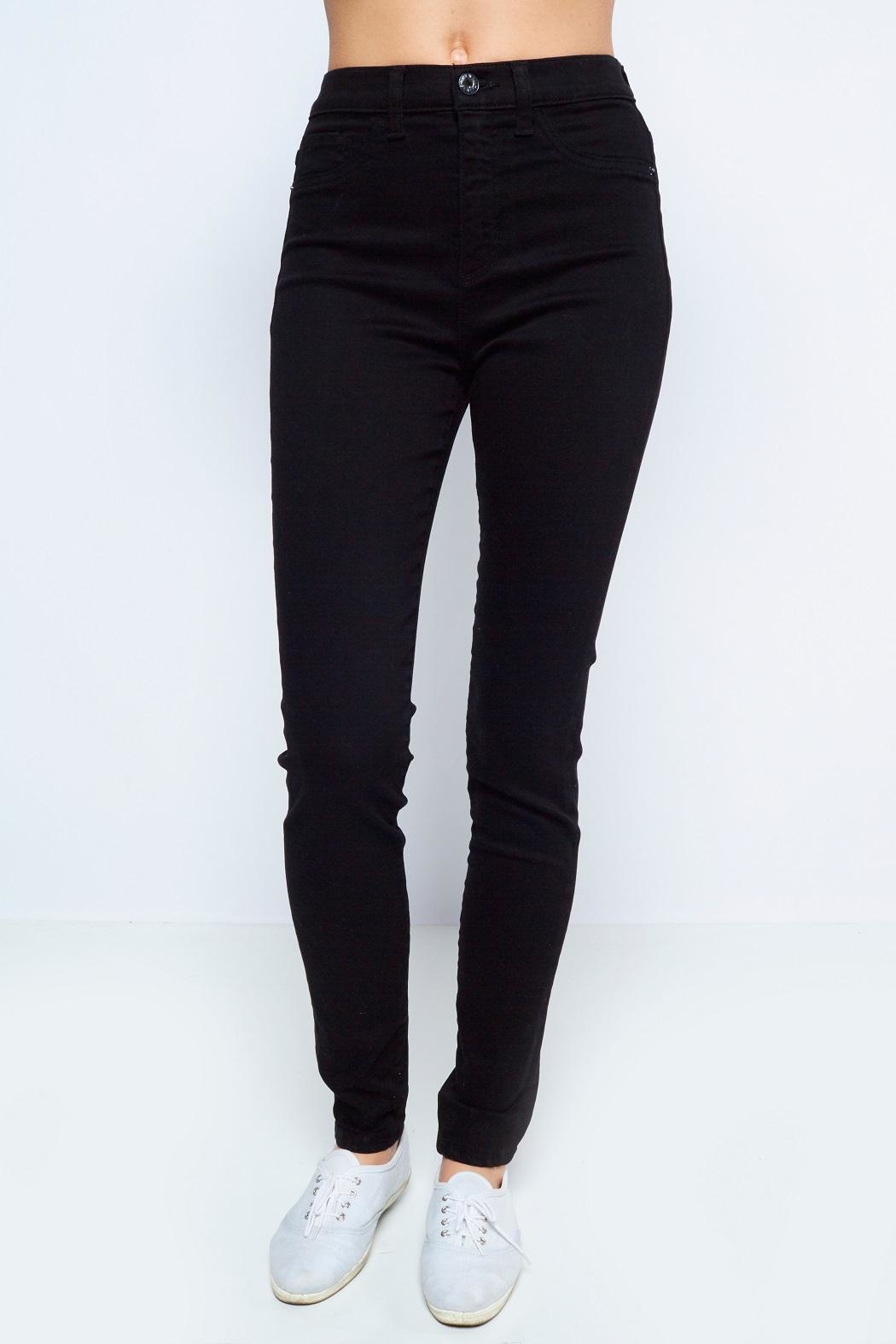 Sneak Peek Black Highwaist Denim - Main Image