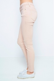Sneak Peek Blush Skinny Jean - Side cropped