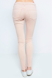 Sneak Peek Blush Skinny Jean - Front full body