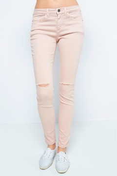 Sneak Peek Blush Skinny Jean - Product List Image