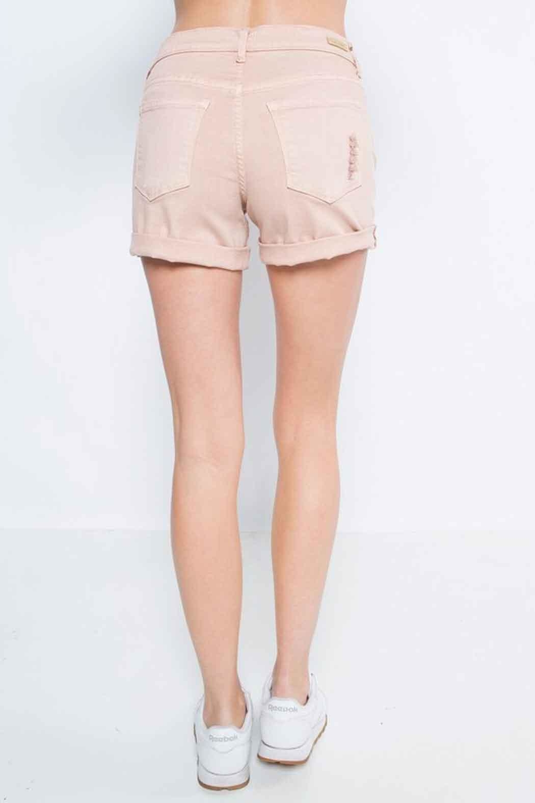Sneak Peek Boyfriend Shorts - Side Cropped Image