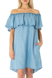 Sneak Peek Cassia Denim Dress - Product Mini Image
