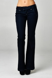 Sneak Peek Dark Denim Trouser - Product Mini Image