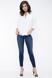 Sneak Peek Dark Wash Comfy Jeans - Product Mini Image