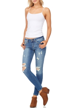 Shoptiques Product: Distressed Crop Denim Jeans