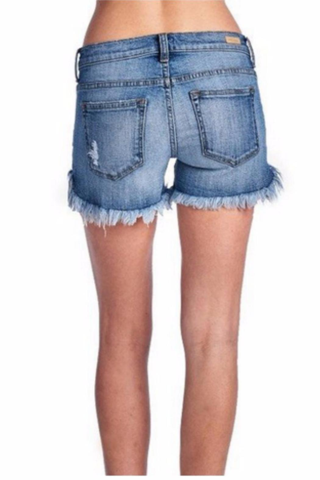 Sneak Peek Denim & Lace Shorts from Florida by Goldfinch Boutique ...