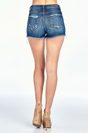 Sneak Peek Denim Short - Front full body