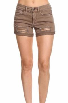 Shoptiques Product: Distressed Cuffed Short