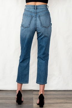 Sneak Peek High Rise Crop Mom Jean - Alternate List Image