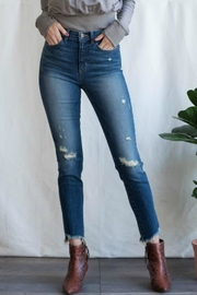 Sneak Peek Kaia Distressed Jeans - Product Mini Image