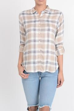 Shoptiques Product: Khaki Plaid Shirt