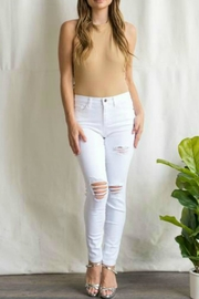 Sneak Peek Leah Distressed Jeans - Product Mini Image