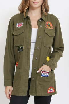 Shoptiques Product: Patched  Military Jacket